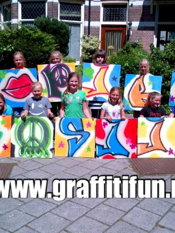 Foto 5: Graffitifun workshop (TIP)