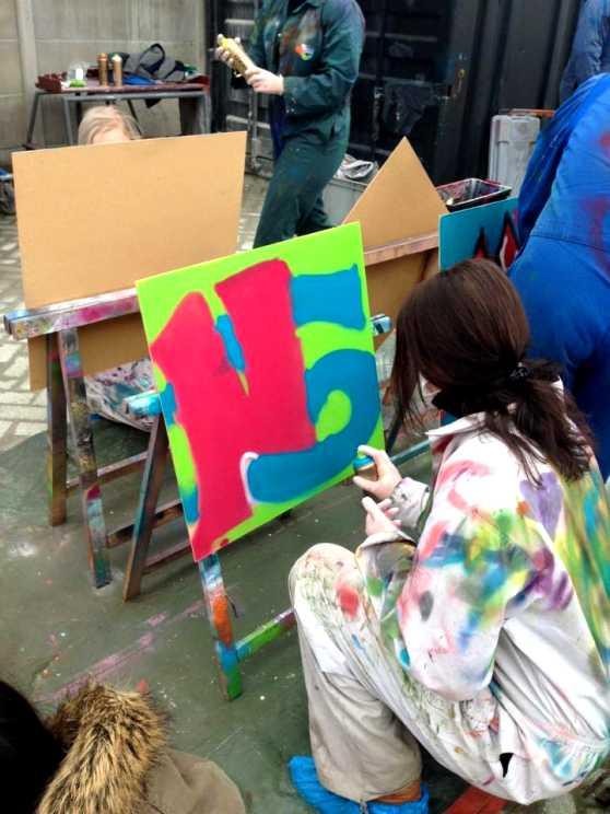 Foto 2: Altijd al een Graffiti artiest willen zijn?