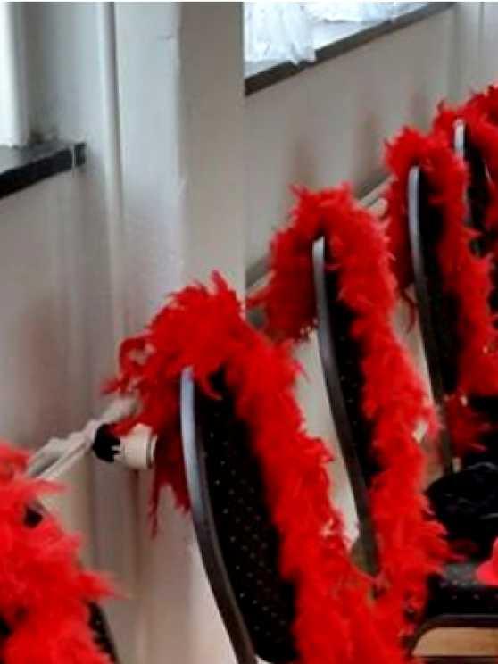 Foto 2: Chairdance workshop