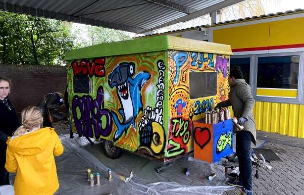 Foto 4: Let's pimp something with Graffiti!