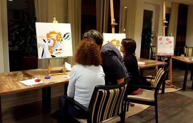 Foto 4: Een leuke Schilder Workshop!
