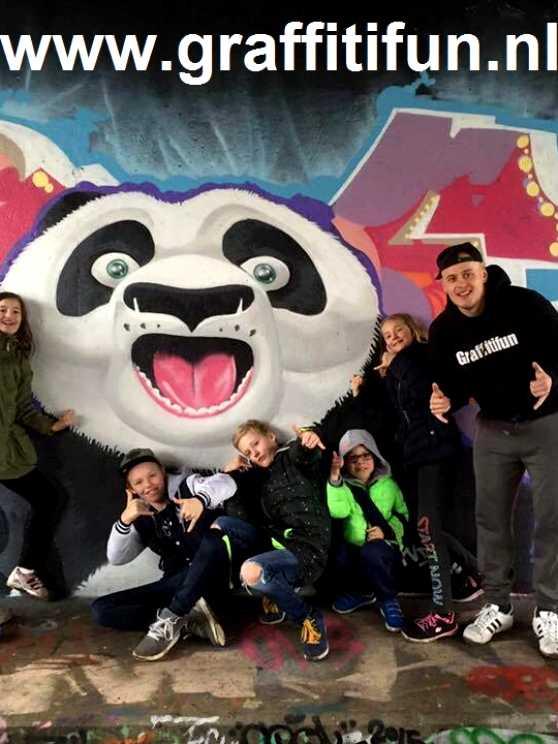 Foto 5: Graffiti Kinderfeestje (TIP)