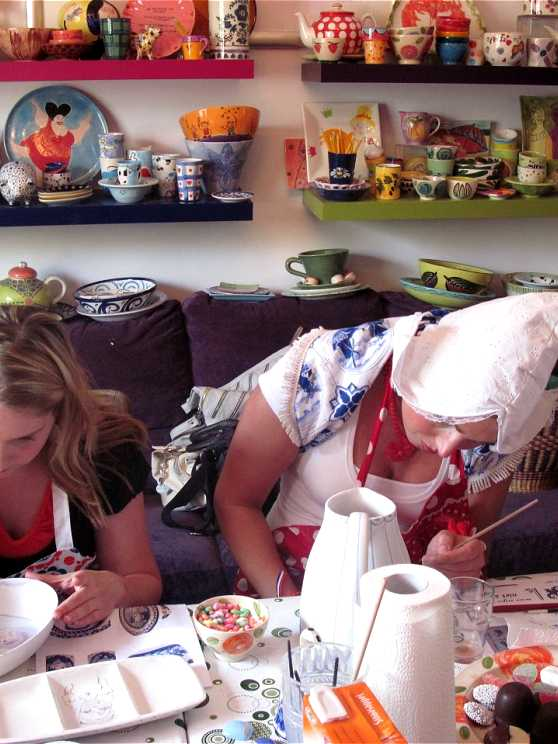 Foto 1: Workshop Servies Schilderen in Geldrop! Creatief en Ambachtelijk!