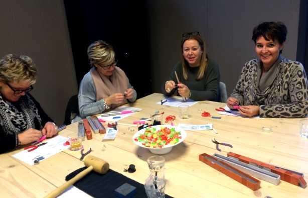 Foto 4: Workshop Zilveren Draadring