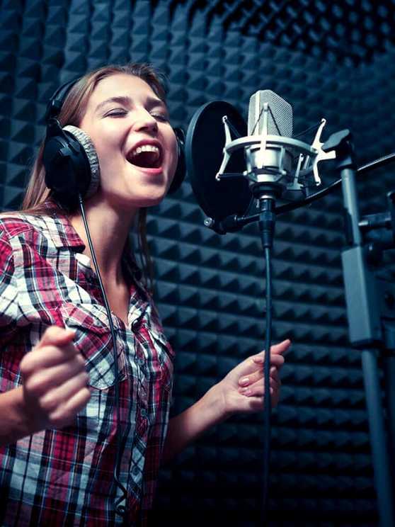 Foto 2: Studio/muziek opname lessen
