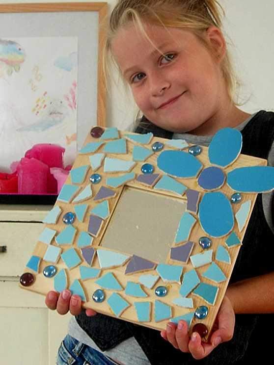 Foto 1: Workshop Mozaïek Kinderfeestje Zwolle