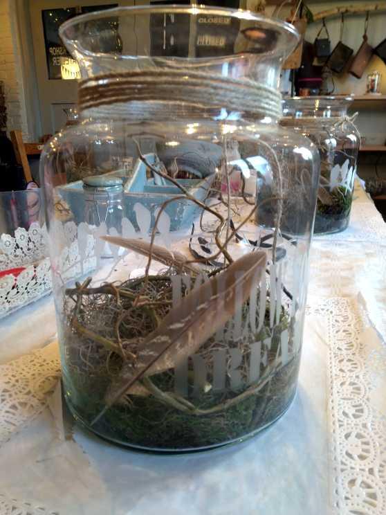 Foto 1: Workshop Glas Etsen - Maak je eigen voorraadpot of bloemenvaas