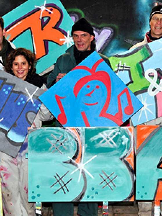 Foto 1: Altijd al een Graffiti artiest willen zijn?