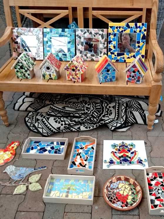Foto 2: Workshop Mozaïeken a la Gaudi