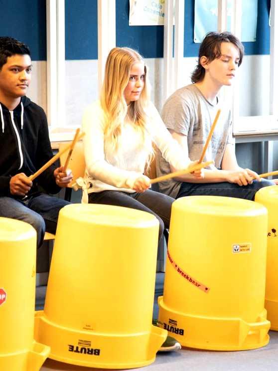 Foto 2: Ondek mijn Ghetto Drums experience!