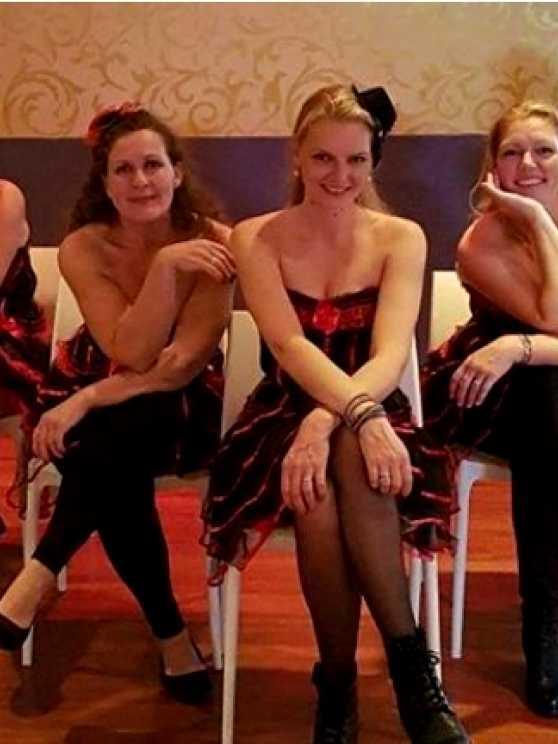 Foto 1: Chairdance workshop