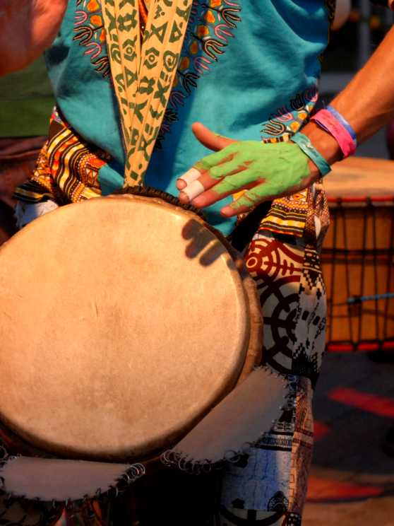 Foto 2: Workshop West-African Sing-Along