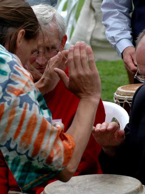 Foto 1: Ervaar de Powerjam - Percussie Workshop Afrikaans Trommelen