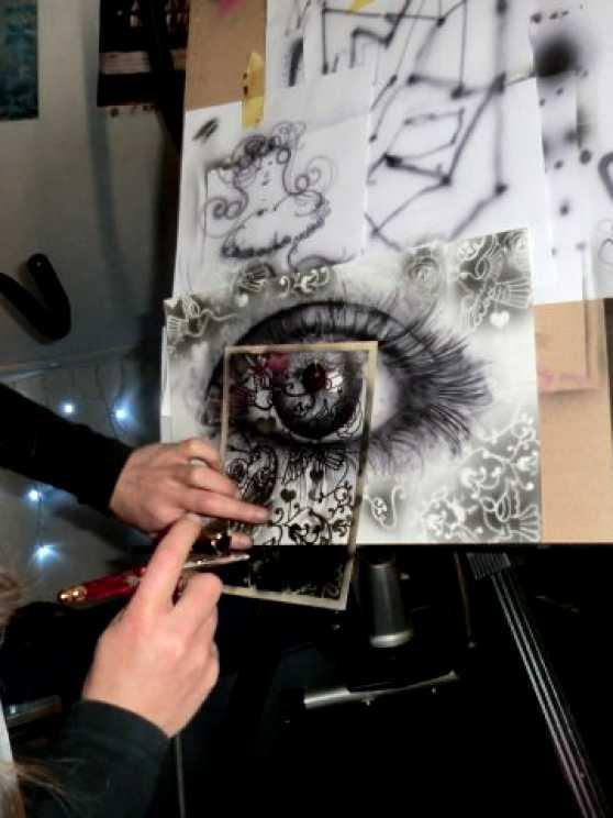 Foto 5: Leer de vetste airbrush technieken en maak je eigen kunstwerk