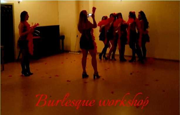Foto 3: Burlesque workshop