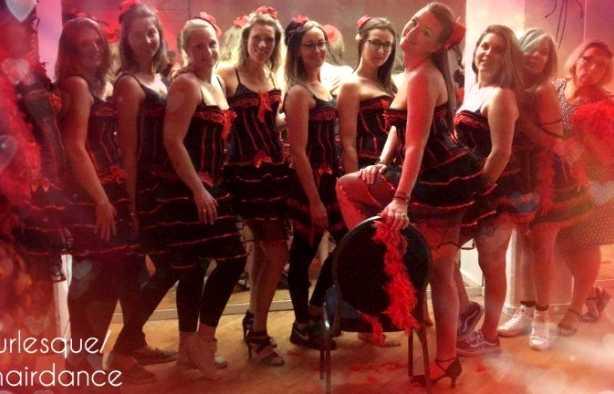 Foto 3: Chairdance workshop