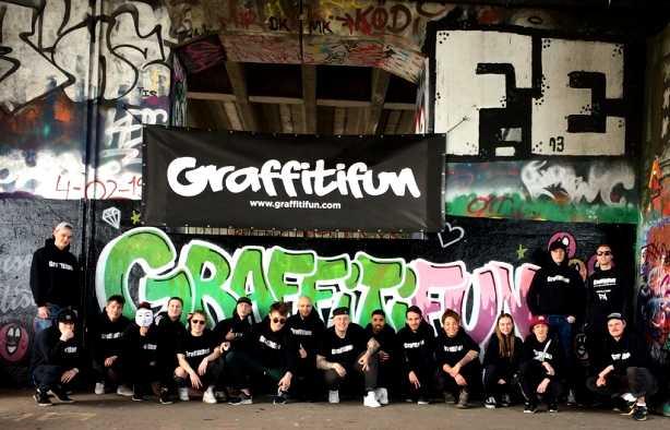 Foto 3: Graffitifun workshop (TIP)