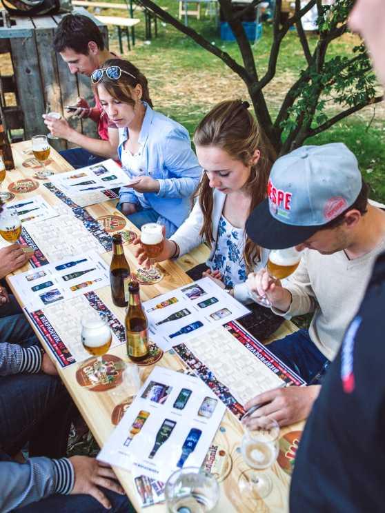 Foto 1: Bier Proeven samen met een echte Biersommelier