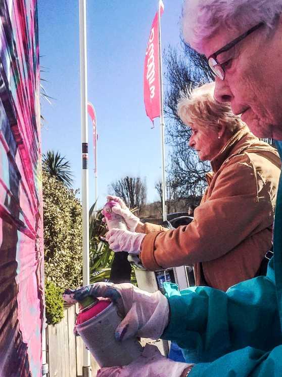 Foto 1: Graffiti Workshop