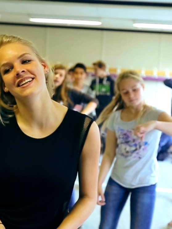 Foto 1: Maak de unieke ervaring van een flashmob mee in een actieve workshop