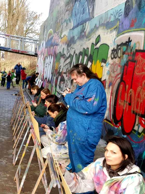 Foto 5: Maak je eigen Graffiti kunstwerk tijdens deze Street Art Experience!