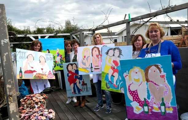 Foto 3: Workshop Dikke Dames Schilderen Utrecht