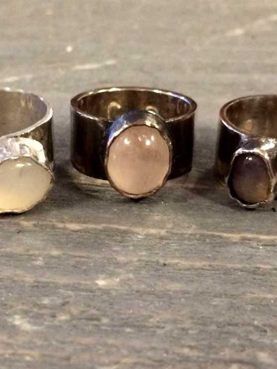 Foto 1: Workshop Zilveren Ring Maken Met Steen