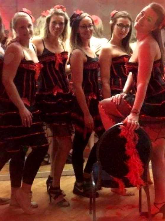 Foto 1: Burlesque workshop