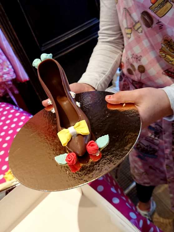 Foto 1: Chocolate Shoe & Bonbon Workshop