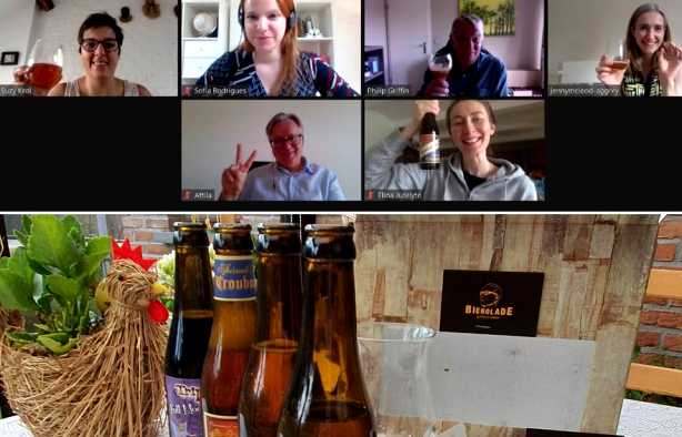 Foto 3: Virtuele Bier en Chocolade Tasting