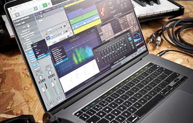 Foto 3: Studio/muziek opname lessen