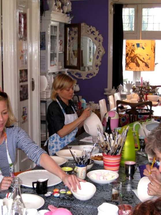 Foto 2: Workshop Servies Schilderen in Geldrop! Creatief en Ambachtelijk!