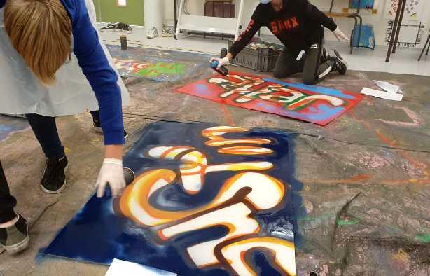 Foto 3: Graffiti Workshop