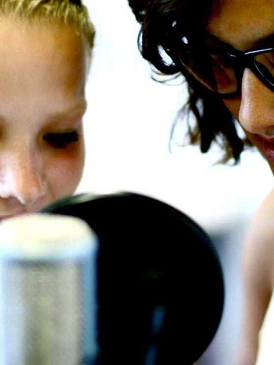 Foto 1: Creatief aan de slag met Taal & Muziek