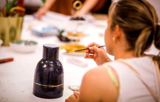 Foto 4: Workshop Kintsugi