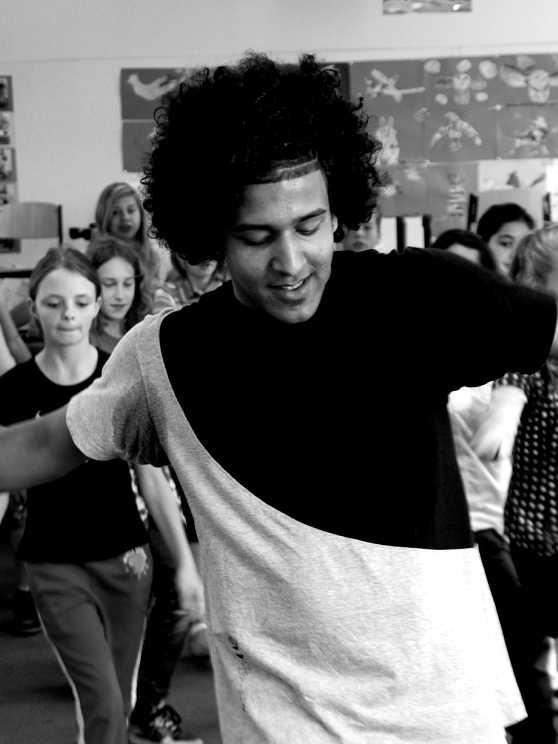 Foto 1: Breakdance in een kinderjasje!