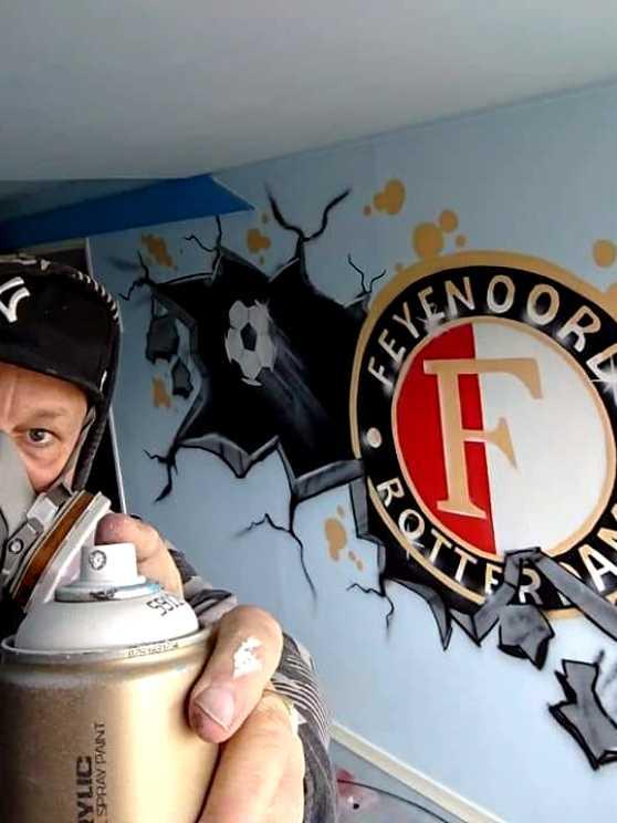 Foto 2: Leer graffiti spuiten van een Old Skool artiest
