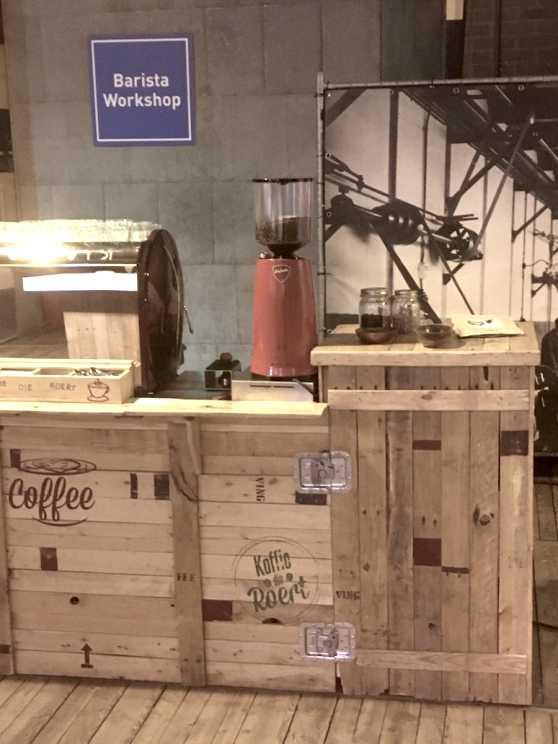 Foto 1: Barista Workshop van een koffieliefhebber!