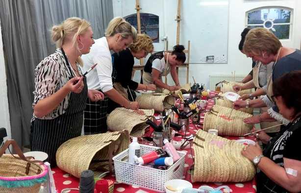 Foto 4: Workshop Ibiza Tas Maken in Tilburg  - Tover je tas om tot een eyecatcher