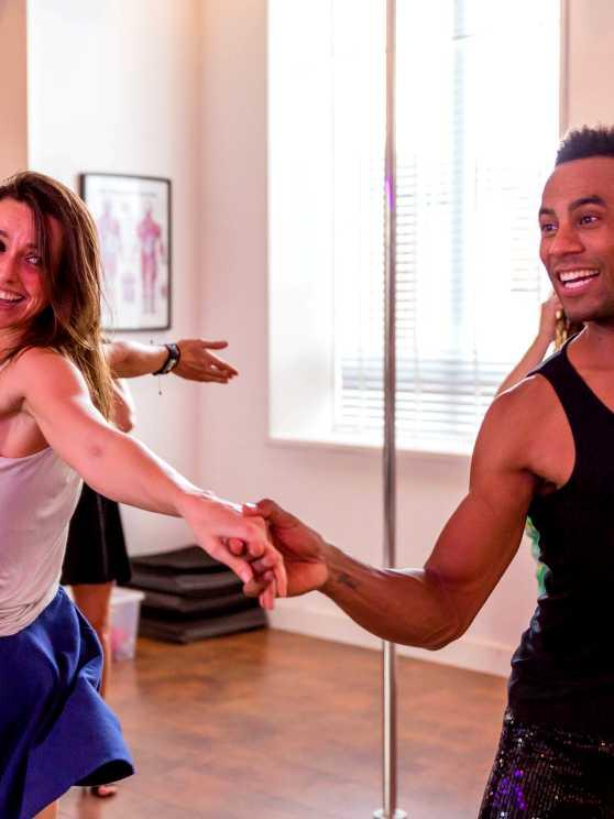 Foto 1: Laat je verleiden door deze passionele latijns amerikaanse dans