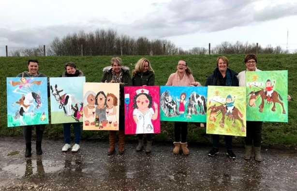 Foto 4: Workshop Dikke Dames Schilderen Utrecht