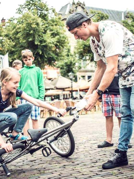 Foto 1: Maak kennis met de BMX Freestyle sport