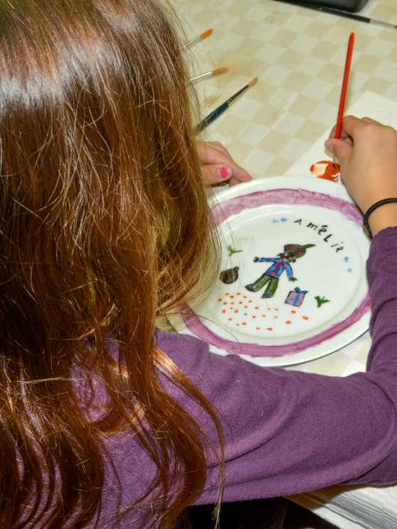 Foto 5: Workshop porselein schilderen - Samen maken we mooie herinneringen!