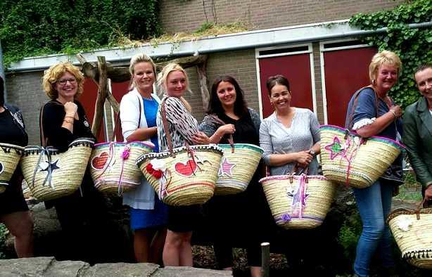 Foto 3: Workshop Ibiza Tas Maken in Tilburg  - Tover je tas om tot een eyecatcher