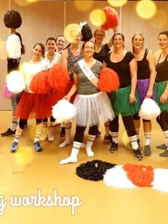 Foto 1: Cheerleading workshop