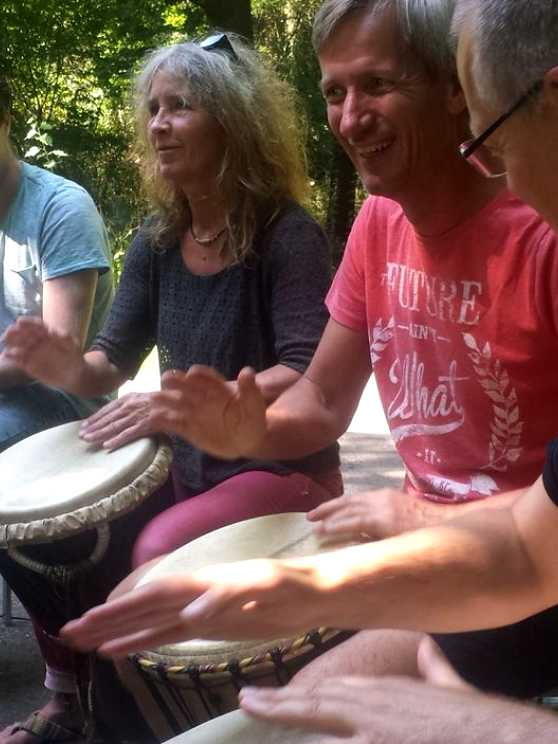 Foto 5: Swingende Workshop Afrikaanse Percussie