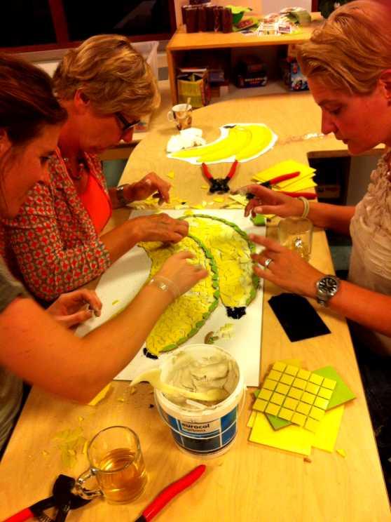 Foto 2: Workshop Glasschilderen in Maassluis - Top activiteit voor de Crea bea's