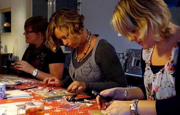 Foto 3: Workshop mozaïek Zwolle