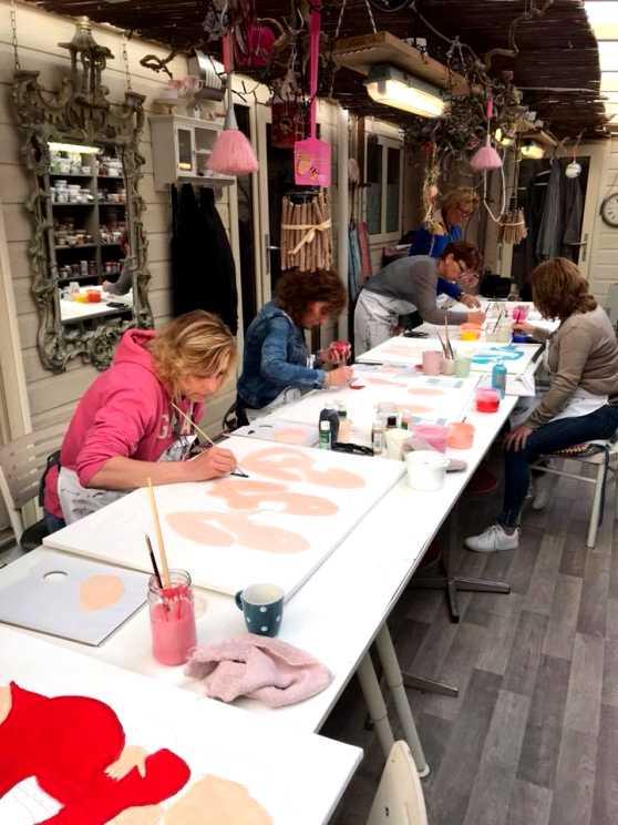Foto 5: Workshop Dikke Dames Schilderen Utrecht
