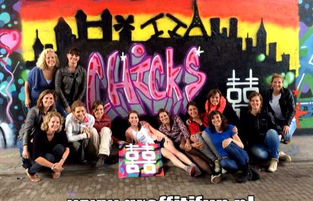 Foto 4: Graffitifun workshop (TIP)